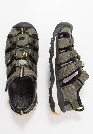 NEWPORT NEO H2 - Walking sandals - dusty olive/sulphur