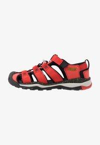 Keen - NEWPORT NEO H2 - Walking sandals - fiery red/golden rod - 1