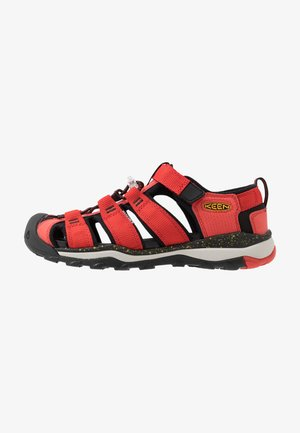 NEWPORT NEO H2 - Walking sandals - fiery red/golden rod
