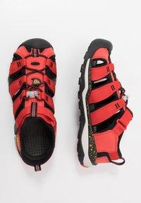 Keen - NEWPORT NEO H2 - Walking sandals - fiery red/golden rod - 0