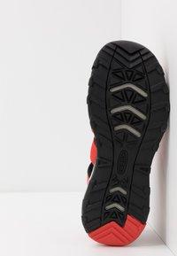Keen - NEWPORT NEO H2 - Walking sandals - fiery red/golden rod - 5