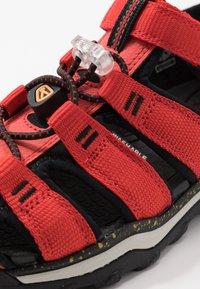 Keen - NEWPORT NEO H2 - Walking sandals - fiery red/golden rod - 2