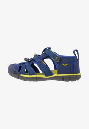 SEACAMP II CNX - Chodecké sandály - blue depths/chartreuse