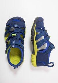 Keen - SEACAMP II CNX - Chodecké sandály - blue depths/chartreuse - 0