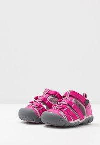 Keen - SEACAMP II CNX - Sandały trekkingowe - very berry/dawn pink - 3