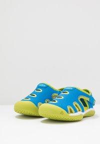 Keen - STINGRAY - Boty na vodní sporty - brilliant blue/chartreuse - 3