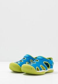 Keen - STINGRAY - Sandały trekkingowe - brilliant blue/chartreuse - 3
