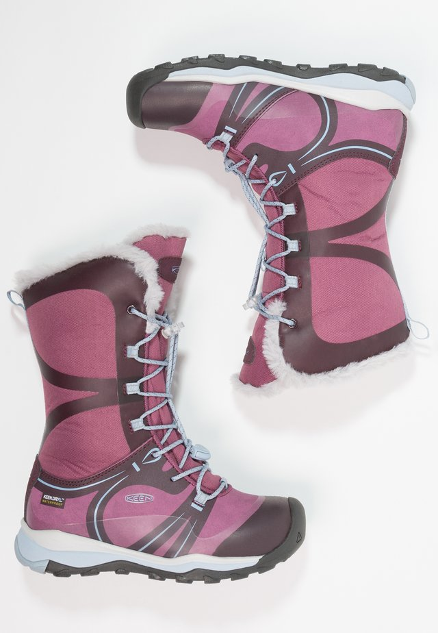 TERRADORA WINTER WP - Winter boots - winestasting/tulipwood