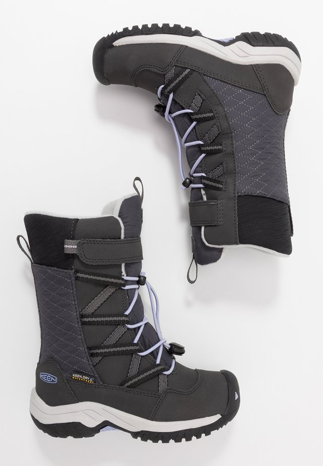 HOODOO WP - Winter boots - black/sweet lavender