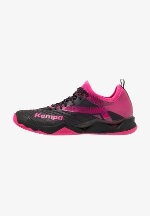 WING LITE 2.0 WOMEN - Zapatillas de balonmano - black/pink