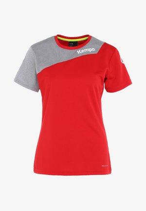 CORE 2.0 TRIKOT WOMEN - Abbigliamento sportivo per squadra - red/dark grey melange