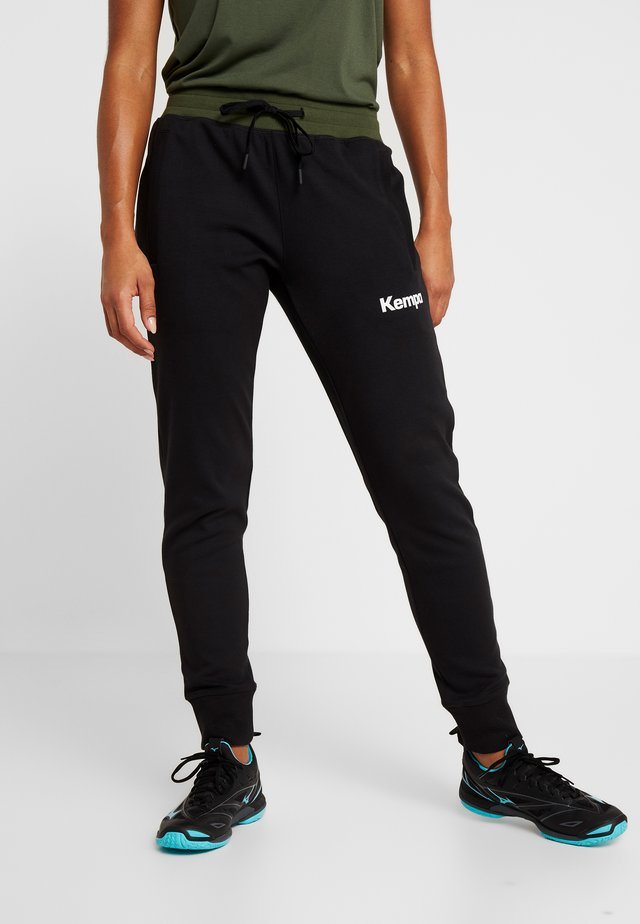 LAGANDA WOMEN - Tracksuit bottoms - black