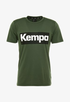 LAGANDA - T-shirt z nadrukiem - deep green