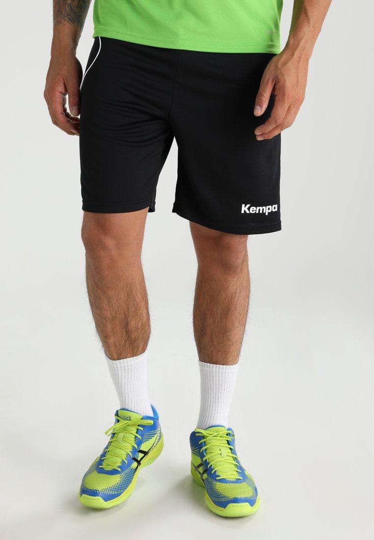 Kempa - CURVE - Sports shorts - black/white