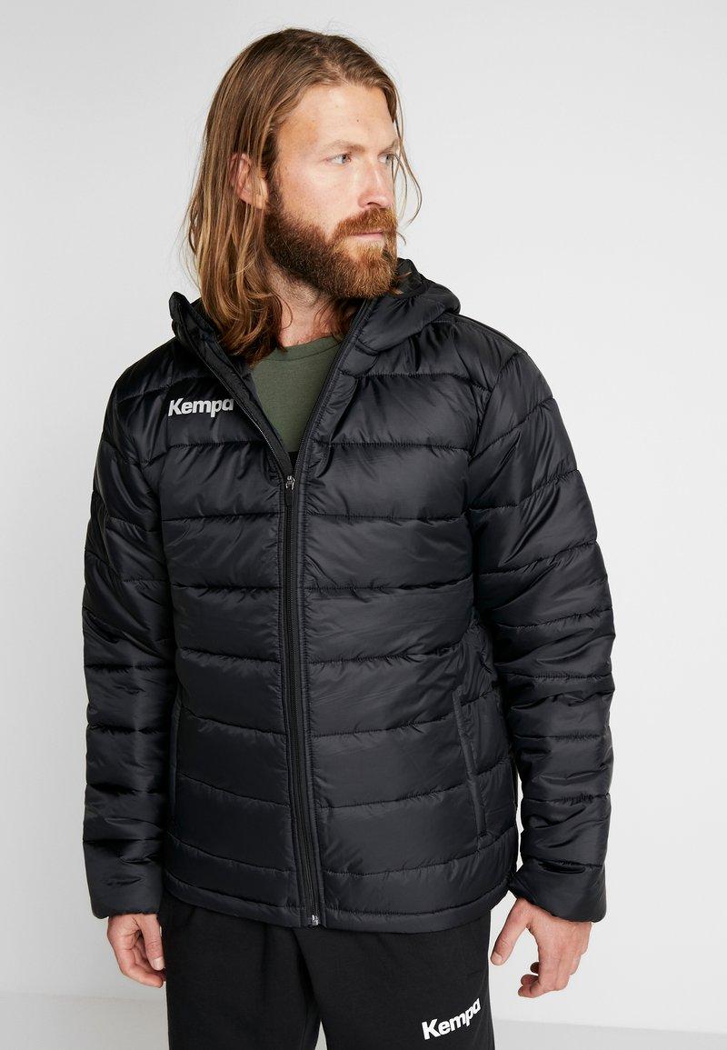 Kempa - PUFFER HOOD JACKET - Outdoor jakke - schwarz