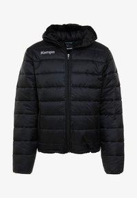 Kempa - PUFFER HOOD JACKET - Outdoor jakke - schwarz - 5