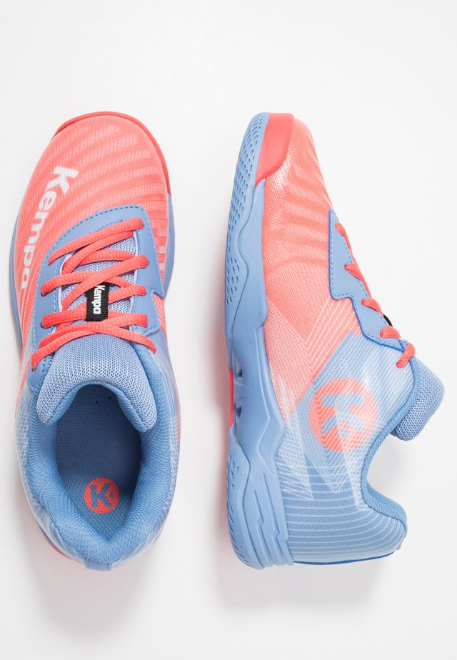 WING 2.0 JUNIOR - Handballschuh - coral/lilac/grey