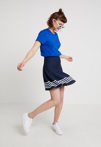 Sea Ranch - MILLE - Falda acampanada - navy - 1