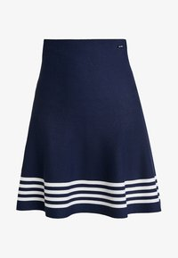 Sea Ranch - MILLE - Falda acampanada - navy - 3