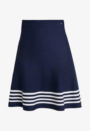 MILLE - A-line skirt - navy