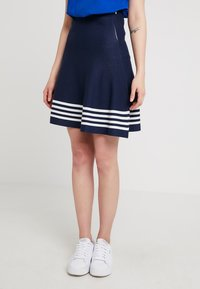 Sea Ranch - MILLE - Falda acampanada - navy - 0