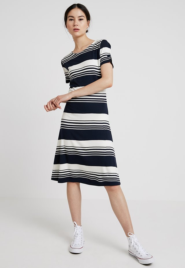 ALEXANDRA - Jersey dress - dark navy