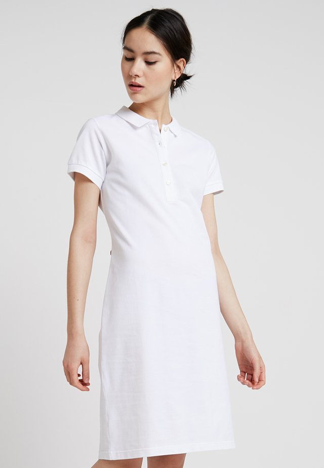 BETTINA - Skjortekjole - white