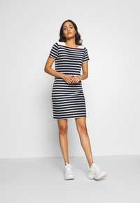 Sea Ranch - CONNI - Jersey dress - navy/pearl - 1