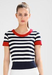 Sea Ranch - TONNERE - Print T-shirt - navy/pearl - 0