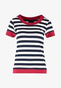 Sea Ranch - TONNERE - Print T-shirt - navy/pearl - 5