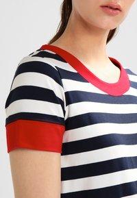 Sea Ranch - TONNERE - Print T-shirt - navy/pearl - 3