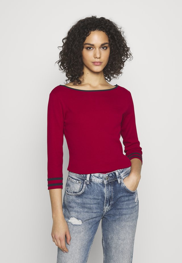 CHARLOTTE - Long sleeved top - kw red