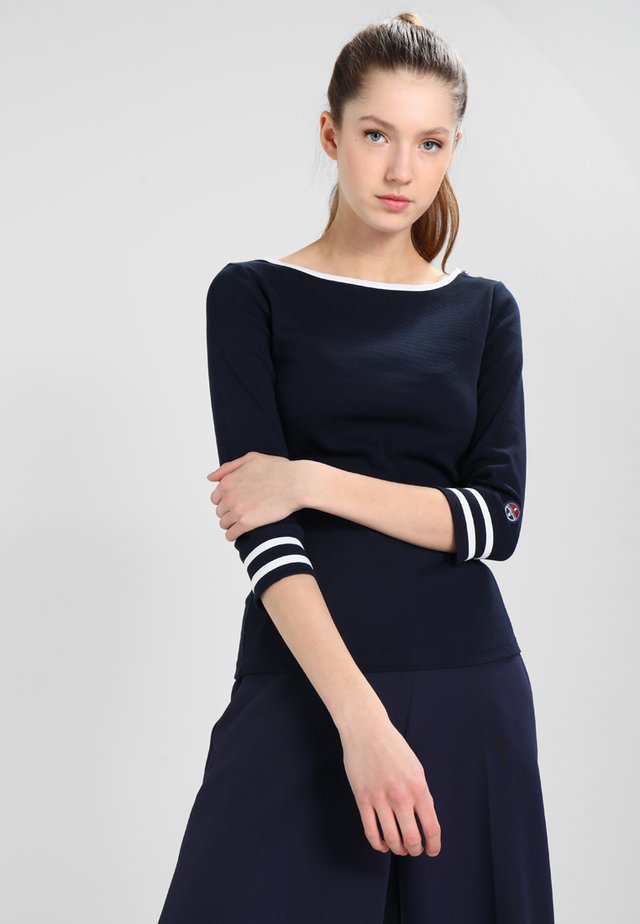 CHARLOTTE - Long sleeved top - navy