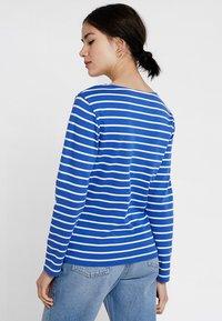 Sea Ranch - ANTIBES - Camiseta de manga larga - deep ultramarine/pearl - 2