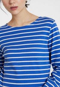 Sea Ranch - ANTIBES - Camiseta de manga larga - deep ultramarine/pearl - 4