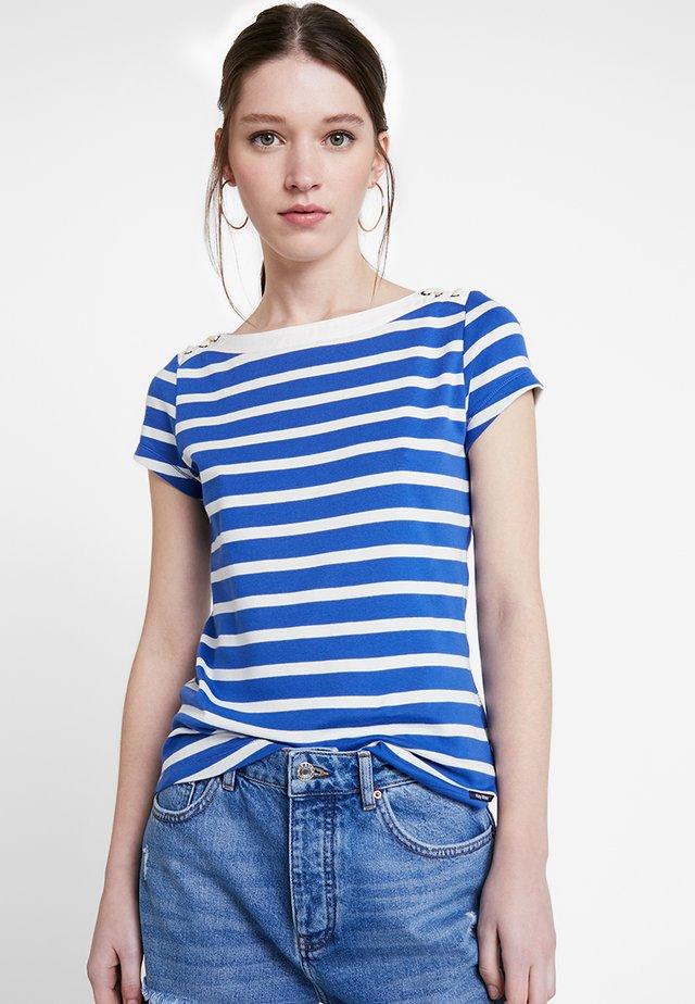 AURORA - T-Shirt print - deep ultramarine/pearl