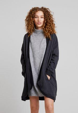 DENISE - veste en sweat zippée - graphite melange