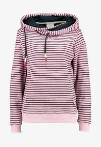 Sea Ranch - DAISY - Jersey con capucha - pink nectar/navy - 5