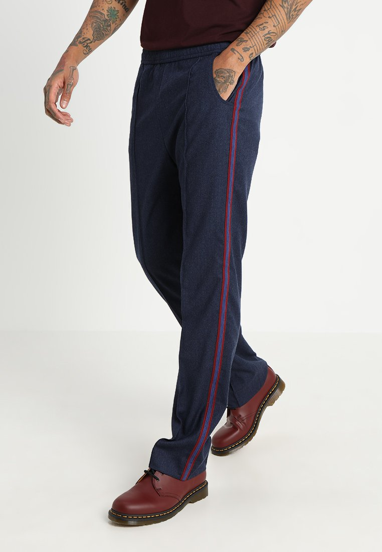 Kent & Curwen - LORDS WITH TAPE - Trousers - med blue
