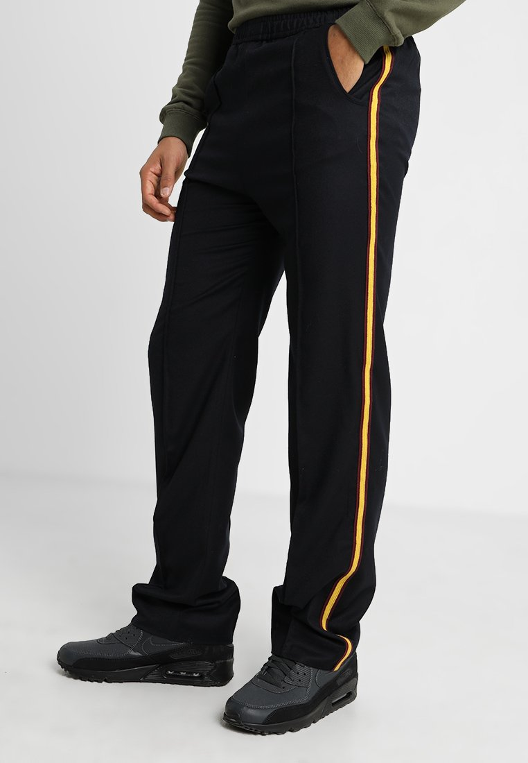 Kent & Curwen - LORDS WHITH TAPE - Tracksuit bottoms - deep blue