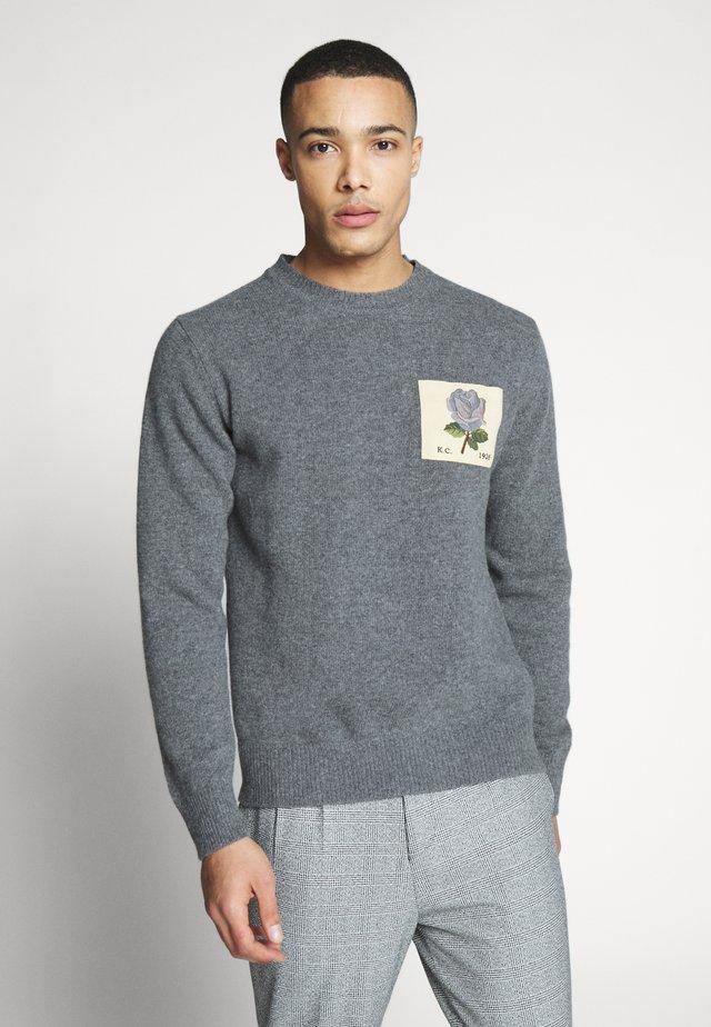 PORTHPEAN - Stickad tröja - grey