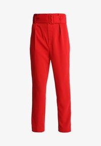 Keepsake - DAYLIGHT PANT - Pantalon classique - red - 3