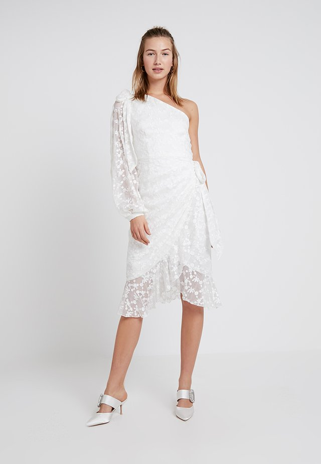 RETROSPECT MIDI DRESS - Cocktail dress / Party dress - ivory