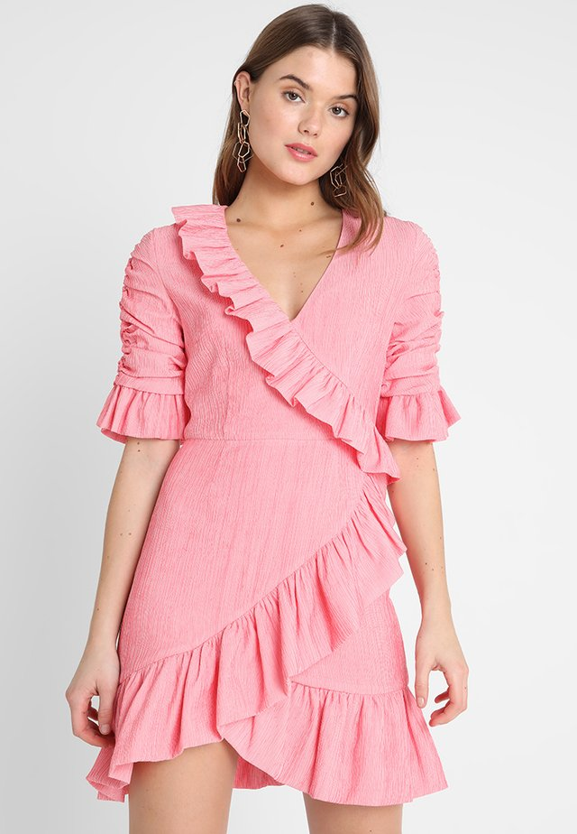 FAITHFUL MINI DRESS - Vestito elegante - pink