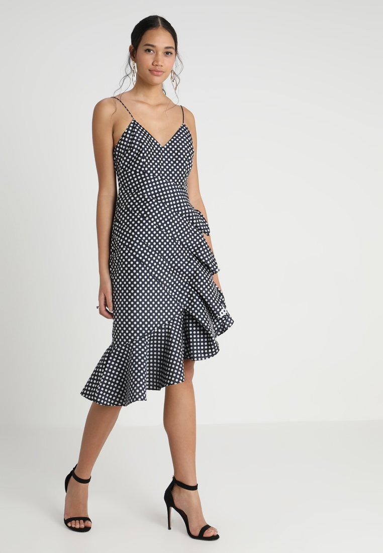 Keepsake - LOVE LIGHT DRESS - Cocktail dress / Party dress - navy/ivory