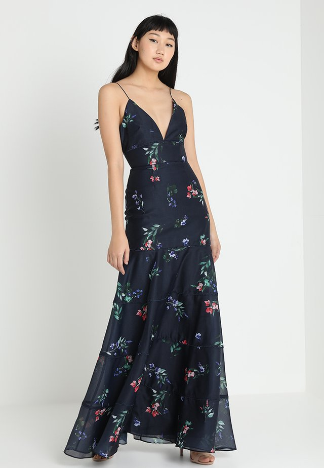 BOTANIC GOWN - Occasion wear - navy