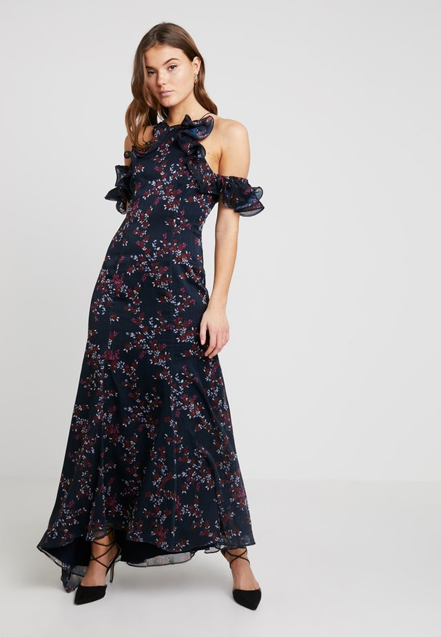 EMBRACE GOWN - Festklänning - navy floral