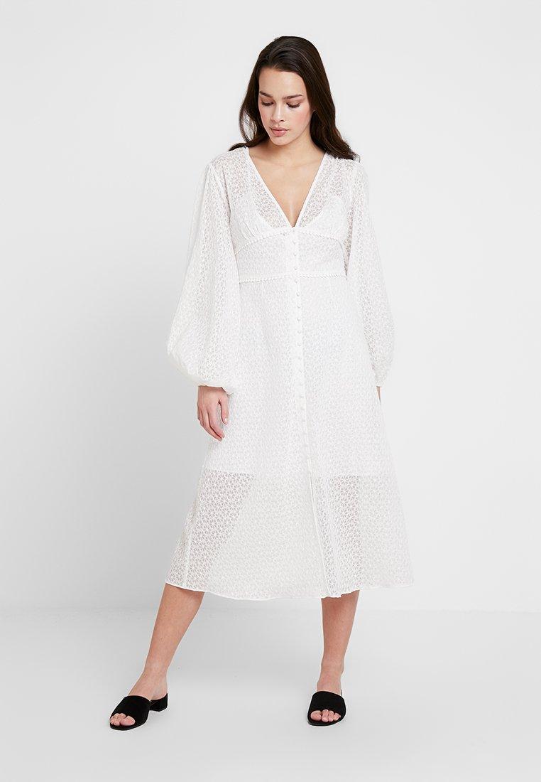 Keepsake - TROUBLE DRESS - Shirt dress - ivory
