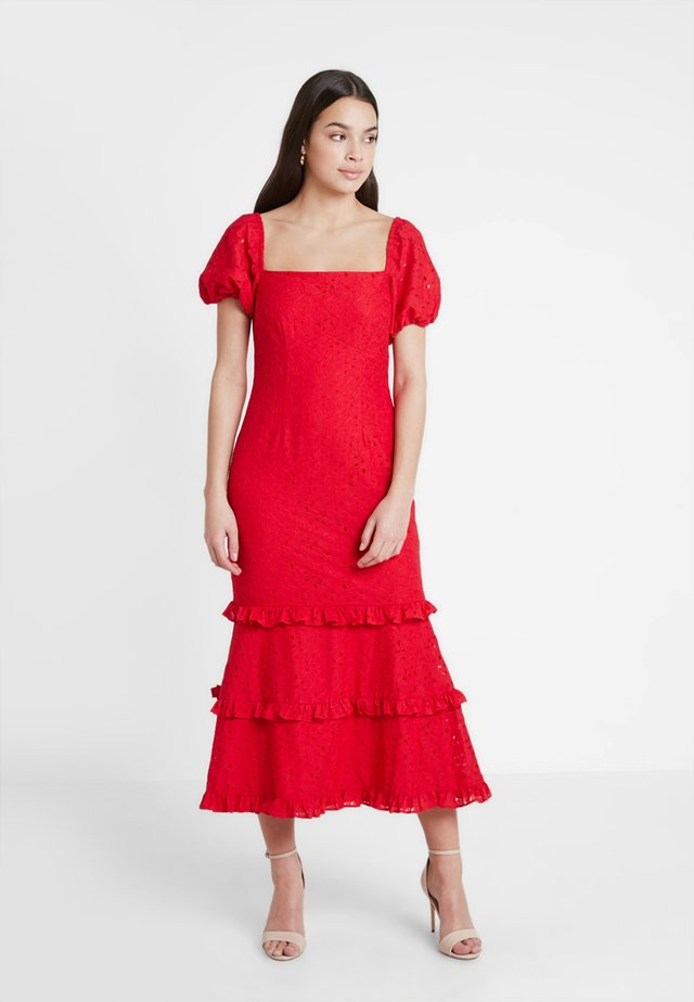 HIGHER DRESS - Cocktail dress / Party dress - rouge