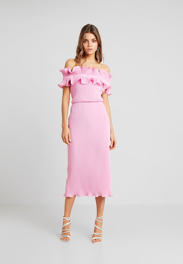 CLARITY DRESS - Cocktail dress / Party dress - pop pink